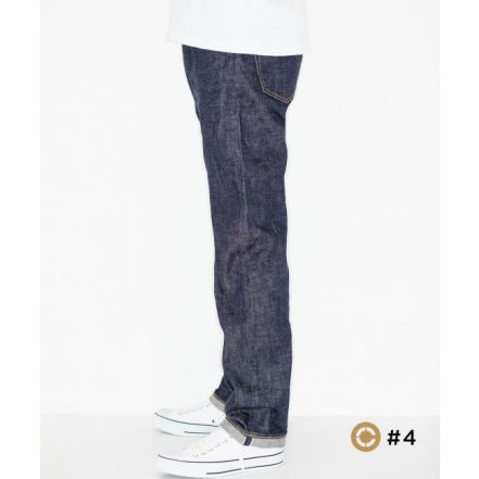 J404 CIRCLE  12.5oz African cotton vintage Selvedge classic straight(One washed)