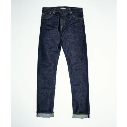 J304 CIRCLE straight 12.5oz African cotton vintage Selvedge(One washed)