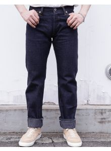 GZ-16ST-01OW 16oz Hickory jeans straight(One washed)