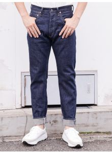 【Denimio Exclusive】ONI-902KIWAMI 16oz Natural Indigo High Rise Relax Tapered