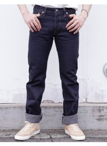 GZ-16ST-01OW 16oz Herringbone jeans straight(One washed)